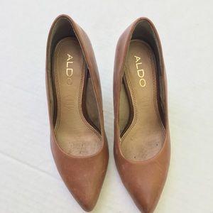 Aldo Heels Womens 6 Evening Pointed Toe Pumps